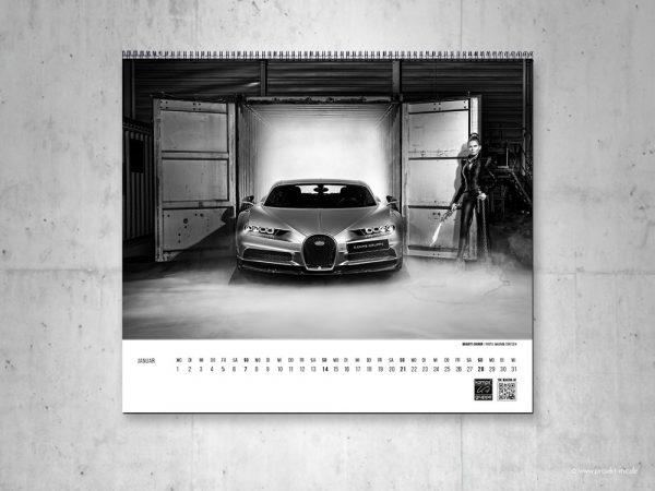 projekt mc Art Calendar Bugatti Kamps